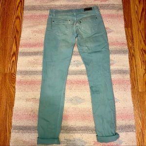 Levi's Jeans - Levi's robins egg blue colored jeans